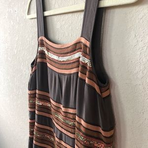 French Comnection Silk Dress, 0